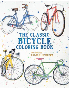Product The Classic Bicycle Coloring Book