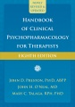 Product Handbook of Clinical Psychopharmacology for Therapists