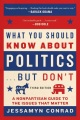 Product What You Should Know About Politics... but Don't