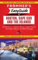 Product Frommer's Easyguide to Boston, Cape Cod & the Isla