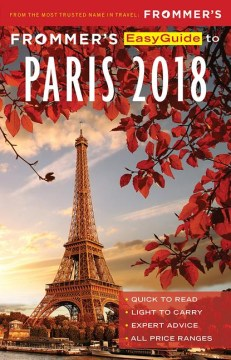 Product Frommer's Easyguide to Paris 2018