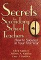 Product Secrets for Secondary School Teachers