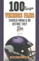 Product 100 Things Vikings Fans Should Know and Do Before