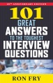 Product 101 Great Answers to the Toughest Interview Questi