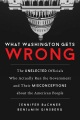 Product What Washington Gets Wrong