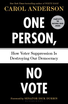 Product One Person, No Vote: How Voter Suppression Is Destroying Our Democracy