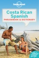 Product Lonely Planet Costa Rican Spanish Phrasebook & Dictionary