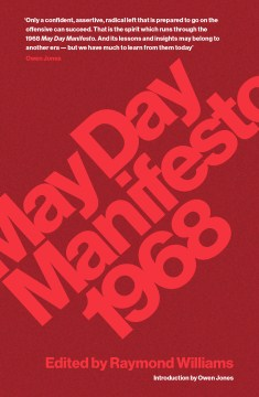 Product May Day Manifesto 1968