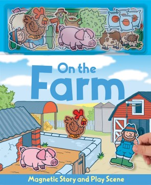 Product On the Farm - Magnetic Book