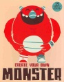 Product Create Your Own Monster: 15 Unique 3d Pop-out Monsters