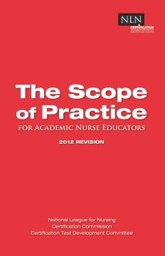 Product The Scope of Practice: For Academic Nurse Educators