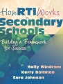 Product How RTI Works in Secondary Schools