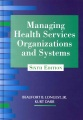 Product Managing Health Services Organizations and Systems