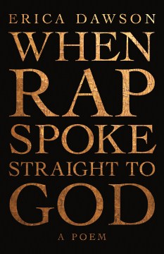 Product When Rap Spoke Straight to God