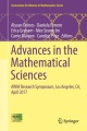 Product Advances in the Mathematical Sciences: Awm Research Symposium, Los Angeles, Ca, April 2017