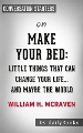 Product Make Your Bed: Little Things That Can Change Your Life… and Maybe the World