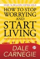 Product How to Stop Worrying and Start Living