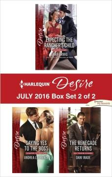 Harlequin Desire July 2016 - Box Set 2 of 2